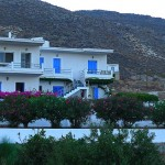 Xerokambos apartments, eastern Crete accommodation